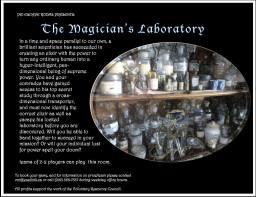 teaser magician's laboritory