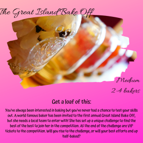 The Great Island Bake Off